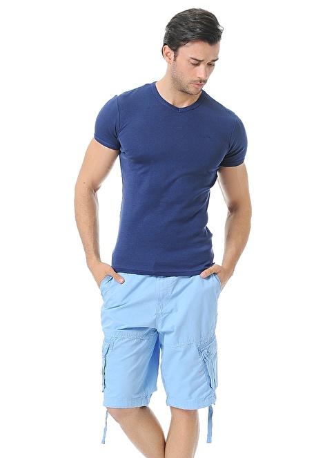 Cazador Bermuda Mavi